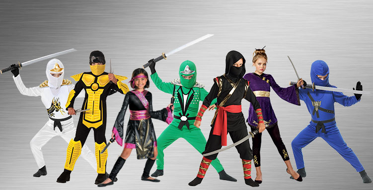 Group Ninja Costume Ideas
