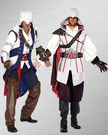 Men's Connor and Ezio Costumes