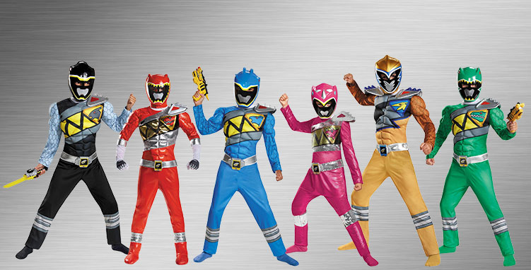 Power Ranger Group Costumes