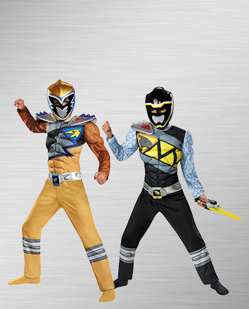 Dino Charge Black and Gold Kids