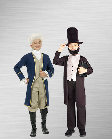 George Washington and Abraham Lincoln Costumes