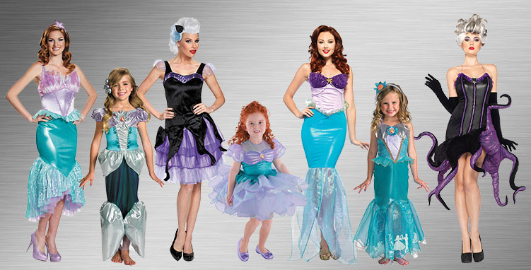 Little Mermaid Costume Ideas