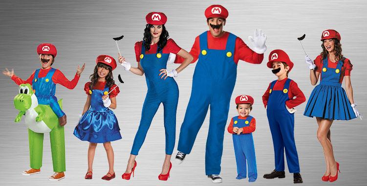 Super Mario Brothers Costumes Halloween Costumes Buycostumes Com