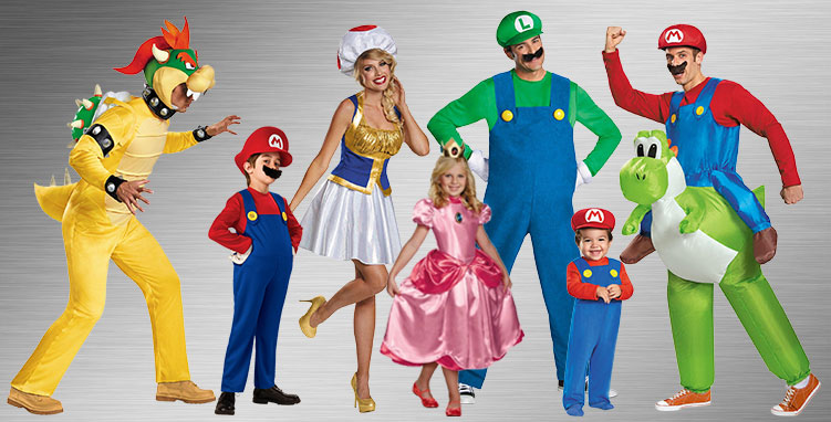 Super Mario Brothers Costumes Halloween Costumes Buycostumes Com
