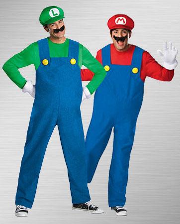 Luigi and Mario Costumes