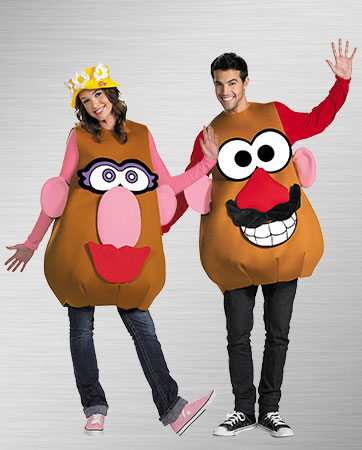 Mrs. and Mr. Potato Head