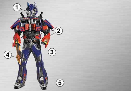 Ultimate Costume - Optimus Prime