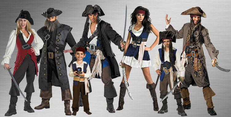 Pirates of the Caribbean Costume Ideas