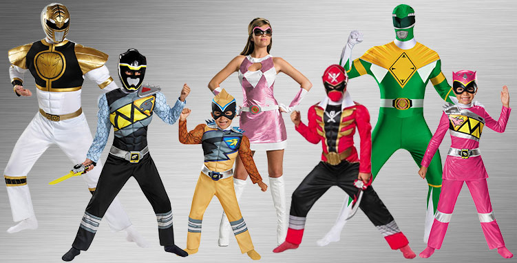 Power Rangers Costume Ideas