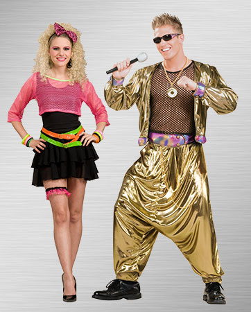 Groupie and Rapper Costumes