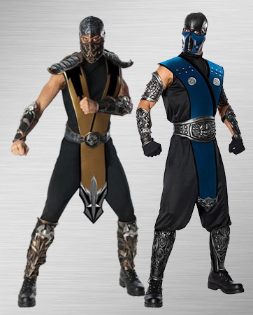 Sub Zero and Scorpion Costumes