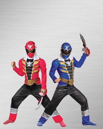 Megaforce Red and Blue