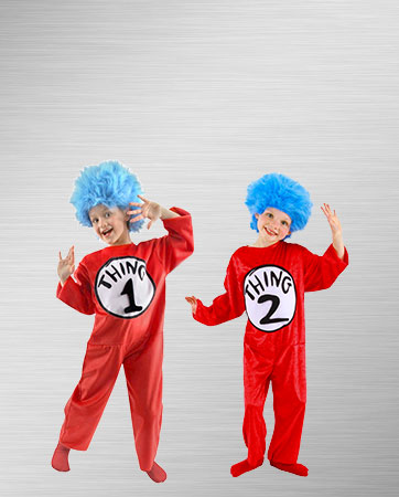 Thing 1 and 2 Costumes