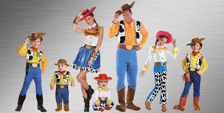 Woody and Jessie Group Costumes