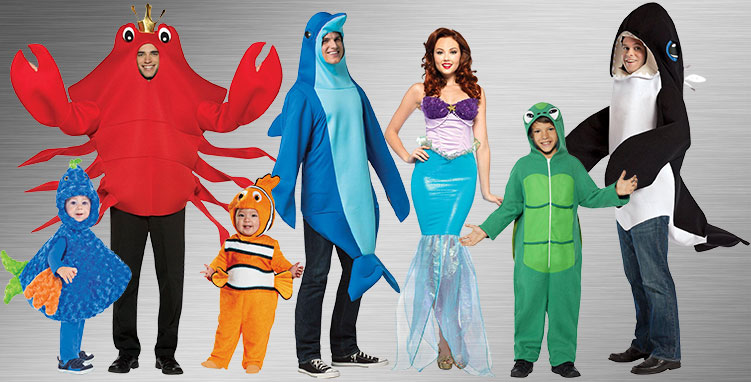 Under the Sea Group Costume Ideas