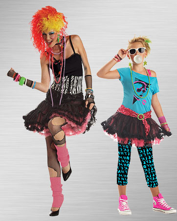 Party Girl and Valley GIrl Costumes