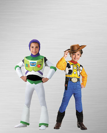 Buzz and Woody Costumes