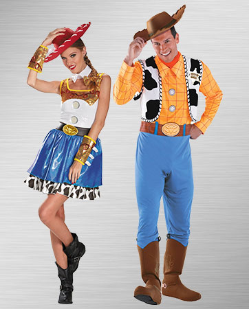 Jessie and Woody Costumes