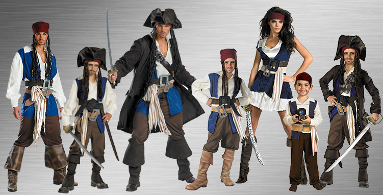 Jack Sparrow Group Costume Ideas