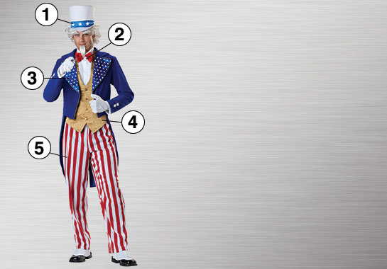 Ultimate Uncle Sam Costume