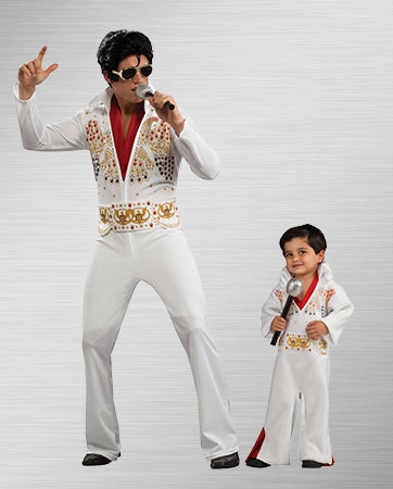 Elvis Adult and Elvis Child Costumes