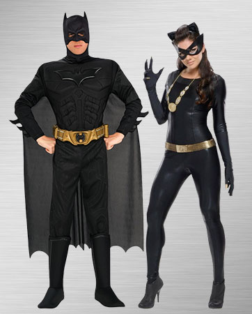 Catwoman and Batman Costumes