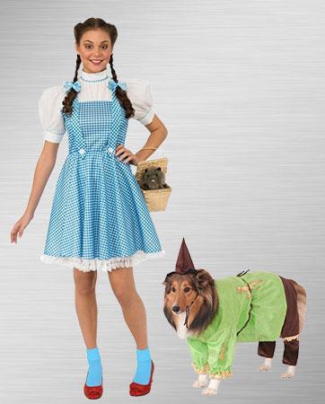 Scarecrow Dog/Dorothy Costumes