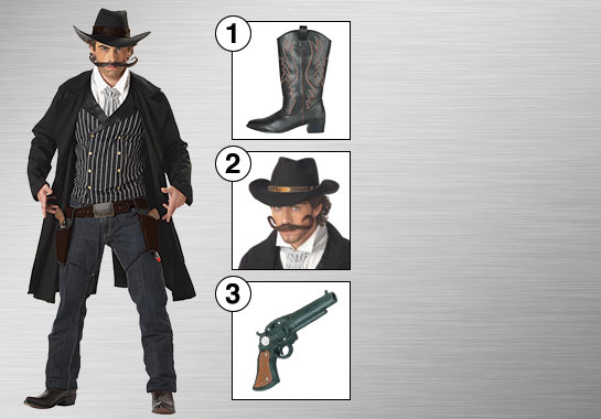 Accessories for Western Gunslinger
