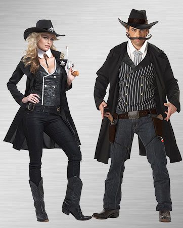 Gunslinger and Sheriff Costumes