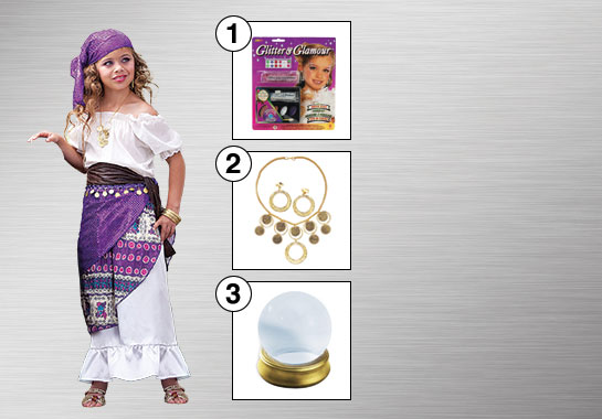 Enhance Your Style - Girl's Gypsy Costume