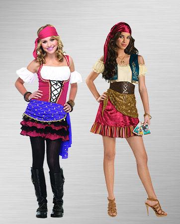 Gypsy Teens Costumes
