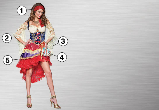 Ultimate Costume - Gypsy