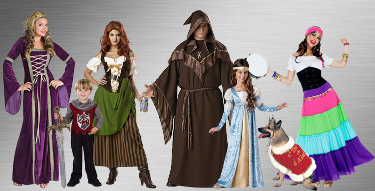 Group Gypsy Costumes