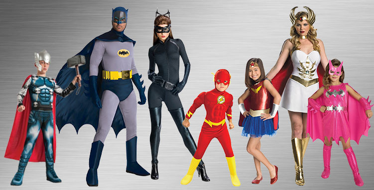 Superhero Group Costumes