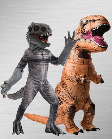 T-Rex and Indominus Rex Costumes