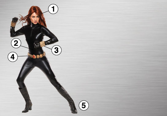 Ultimate Costume - Black Widow