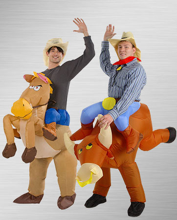 Bullrider and Horse Rider Costumes