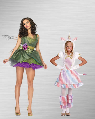 Fairy and Unicorn Costumes