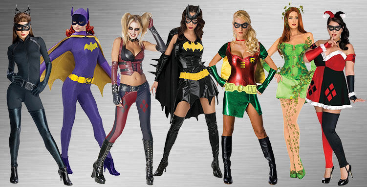 Female Superhero Group Costumes