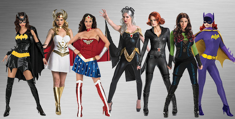 Female Superhero Costume Ideas