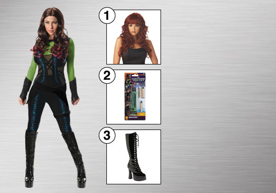 Gamora Costume Accessories