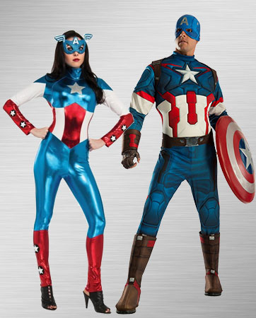 Captain America Duo Costumes