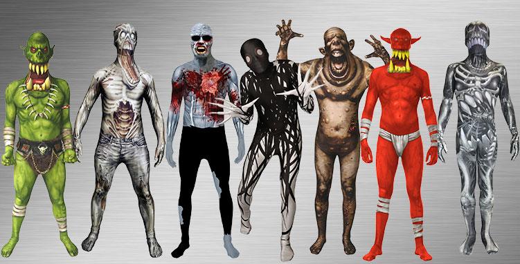 Zombie Group Costume Ideas