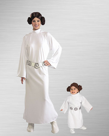 Princess Leia Mom and Daughter Costumes