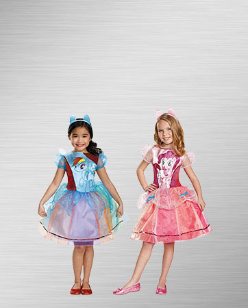 Pinkie Pie and Rainbow Dash Costumes