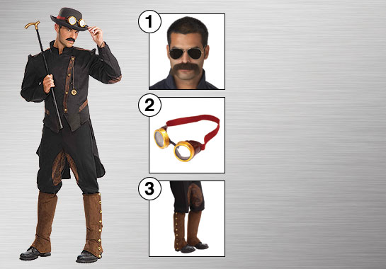 Enhance Your Style - Steampunk Gentleman