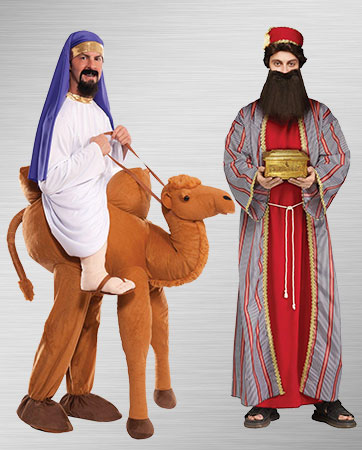 Ride on a Camel With the Wismen Costumes