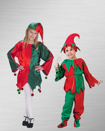 Elves Kid's Costumes