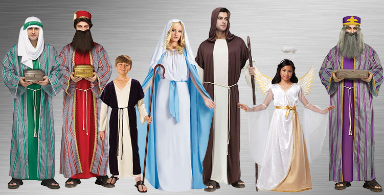Religious Group Costume Ideas
