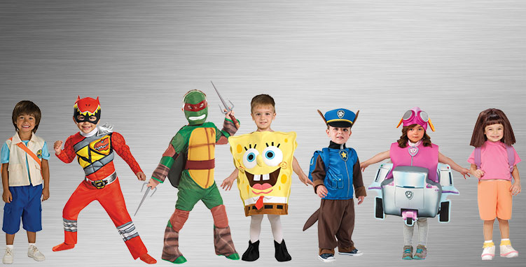 Nickelodeon Group Costumes